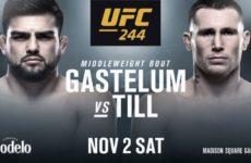 Келвин Гастелум — Даррен Тилл на UFC 244
