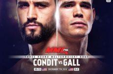 Микки Галл прокомментировал предстоящий бой с Карлосом Кондитом