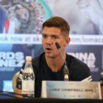 Люк Кэмпбелл рассказал, как именно ноги помогут в бою с Василием Ломаченко