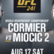 Прогноз боя Даниэля Кормье и Стипе Миочича. UFC 241. 17.08.19