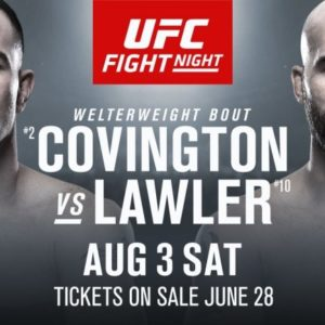 Видео боя Колби Ковингтон – Робби Лоулер UFC on ESPN 5