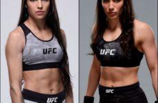 Видео боя Полиана Виана — Вероника Маседо UFC Fight Night 156