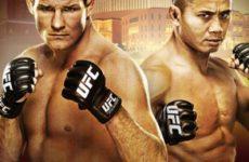 Видео боя Сирил Гэйн — Рафаэль Пессоа UFC Fight Night 156