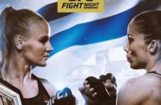 Файткард турнира UFC Fight Night 156: Валентина Шевченко — Лиз Кармуш