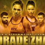 Смотреть онлайн UFC Fight Night 157: Джессика Андраде – Вейли Жанг