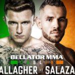 Видео боя Джеймс Галлахер — Роман Салазар Bellator 227 и Bellator Dublin