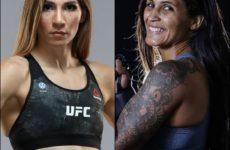 Видео боя Ирэн Алдана — Ванесса Мело UFC on ESPN+ 17