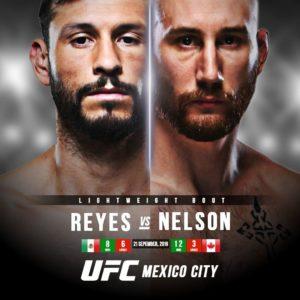 Видео боя Кайл Нельсон — Марко Поло Рейес UFC on ESPN+ 17