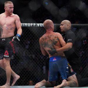 Комментарий Джастина Гэтжи после победы над Дональдом Серроне на UFC Fight Night 158