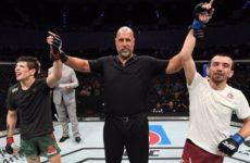 Слова Аскара Аскарова относительно результата боя с Морено на турнире UFC Fight Night 159