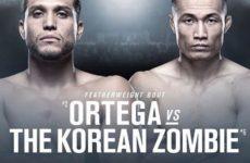 Брайан Ортега — Корейский Зомби на турнире UFC в Южной Корее