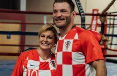 Стипе Миочич провёл тренировку с президентом Хорватии