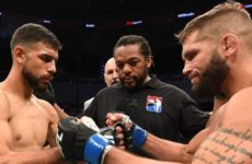 Медицинские отстранения участников турнира UFC Fight Night 159: Яир Родригес — Джереми Стивенс Главная