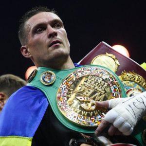 Александр Усик считает Спонга достойным соперником для дебюта в супертяжёлом весе