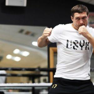Александр Усик рассказал о подготовке к бою со Спонгом