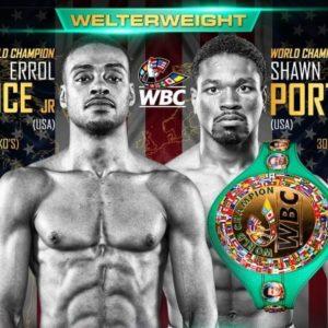 Эррол Спенс и Шон Портер прошли обязательное взвешивание WBC за 7 дней до боя