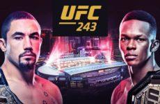 Коэффициенты букмекерских контор на турнир UFC 243
