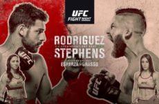 Файткард турнира UFC Fight Night 159: Яир Родригес — Джереми Стивенс