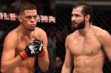 Нейт Диас и Хорхе Масвидаль встретяться в главном поединке UFC 244