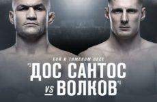 Александр Волков — Джуниор Дос Сантос в главном бое турнира UFC Fight Night 163