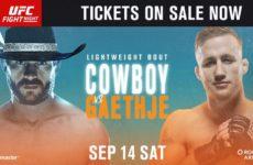 Коэффициенты букмекерских контор на турнир UFC Fight Night 158