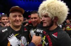 Абдулманап Нурмагомедов поблагодарил фанатов за поддержку на UFC 242