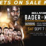 Файткард турнира Bellator 226: Райан Бейдер - Чейк Конго