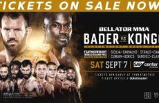 Файткард турнира Bellator 226: Райан Бейдер — Чейк Конго