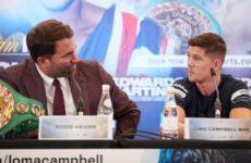 Эдди Хирн уверен, что Люк Кэмпбелл заслуживает вновь бороться за титул