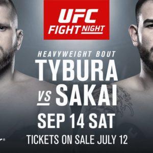 Видео боя Марчин Тыбура — Аугусто Сакаи UFC Fight Night 158