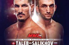 Видео боя Муслим Салихов — Нордин Талеб UFC 242