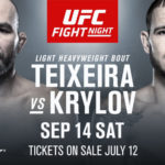 Видео боя Никита Крылов — Гловер Тейшейра UFC Fight Night 158