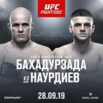 Видео боя Сияр Бахадурзада — Исмаил Наурдиев UFC Fight Night 160