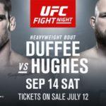 Видео боя Тодд Даффи — Джефф Хьюз UFC Fight Night 158