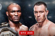 Официально: Камару Усман и Колби Ковингтоном проведут бой на UFC 245