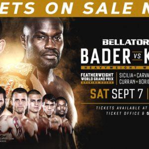 Прямая трансляция Bellator 226: Райан Бейдер — Чейк Конго