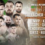 Прямая трансляция Bellator 227 и Bellator Dublin: Бенсон Хендерсон - Майлс Джури, Джеймс Галлахер - Роман Салазар