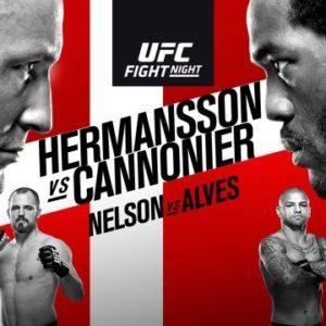 Прямая трансляция UFC Fight Night 160: Джек Херманссон — Джаред Каннонье