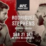 Прямой эфир UFC Fight Night 159: Яир Родригес — Джереми Стивенс, Брэндон Морено — Аскар Аскаров. Смотреть онлайн