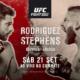 Прямая трансляция UFC on ESPN+ 17: Яир Родригес — Джереми Стивенс