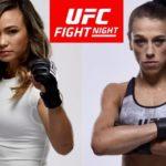Видео боя Йоанна Енджейчик — Мишель Уотерсон UFC Fight Night 161
