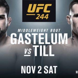 Видео боя Келвин Гастелум — Даррен Тилл UFC 244
