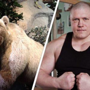 Максим Новосёлов поборолся с медведем