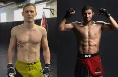 Рустам Хабилов против Сергея Хандожко на турнире UFC в Москве