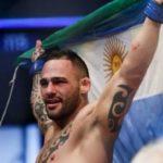 Сантьяго Понзиниббио был вынужден сняться с поединка против Робби Лоулера на UFC 245