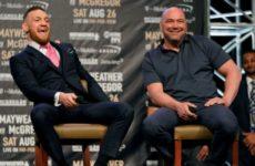 Дана Уайт отреагировал на анонс Макгрегором возвращения в UFC
