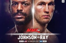 Видео боя Майкл Джонсон — Стиви Рэй UFC Fight Night 162
