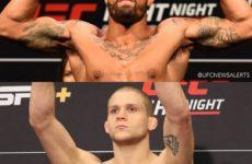 Видео боя Макс Гриффин — Алекс Мороно UFC Fight Night 161