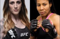 Видео боя Меган Андерсон – Зара Фэйрн дос Сантос UFC 243