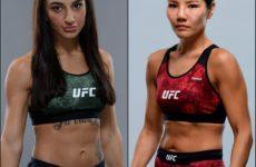 Видео боя Надя Кассим – Джи Йон Ким UFC 243